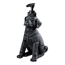 Bass Pro Shops Retriever School Bathroom Accessories - Black Lab Lotion Dispenser