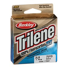 Berkley Trilene 100% Fluorocarbon Ice Fishing Line