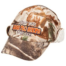Bass Pro Shops 6-Panel Cap with Earflaps for Youth