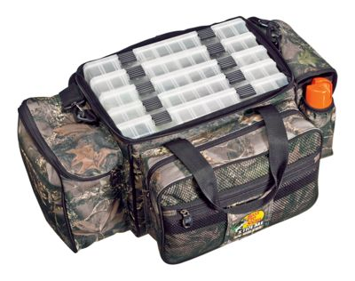 Bass Pro Shops Extreme Qualifier 370 Camo Tackle Bag System thumbnail