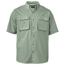 World Wide Sportsman Nylon Angler Short-Sleeve Shirts for Men