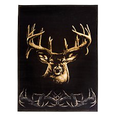 Buck Wear Wildlife -Themed Area Rugs - Moment of Truth