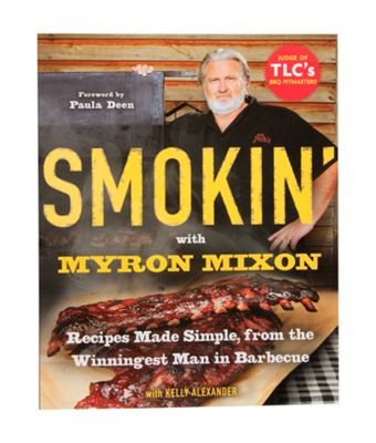 """""""Written by the star of TLC's BBQ Pitmasters  Over 75 recipes  Formulas for marinades, sauces and more  Smokin' with Myron Mixon uncovers the secrets of your favorite barbecue pro! Star of TLC's hit show BBQ Pitmasters, Mixon is the winner of th"""""""