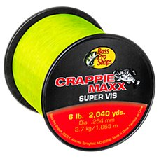 Crappie Maxx Super Vis Fishing Line