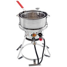 Bass Pro Shops Stainless Steel Fish Fryer Image