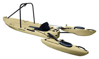 Freedom hawk kayaks freedom 12 stand up fishing kayak for Bass pro fishing kayak
