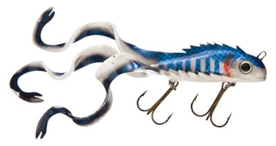 Chaos tackle mini medussa swimbait 9 4 1 2 oz charged cisco for Redhead bear creek flannel shirt