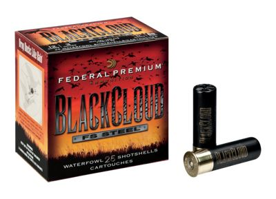 Federal Premium Black Cloud FS Steel Waterfowl Shotshells – 20 Gauge – #2 Shot – 1 oz. – 25 Rounds