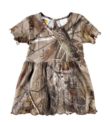 Bass Pro Shops Camo Dress for Babies or Toddler Girls by