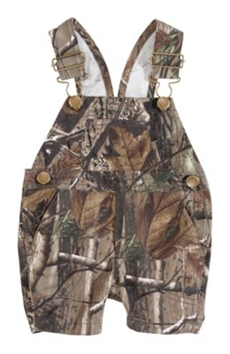 Bass Pro Shops Camo Bib Overall Short for Babies – 3M