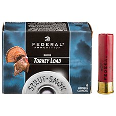 Federal Premium Strut-Shok Lead Magnum Turkey Load Shotshells