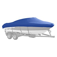 Bass Pro Shops Select Fit Sharkskin Supreme SD Boat Cover by Westland for Conventional V-Hull Cuddy I/O Models