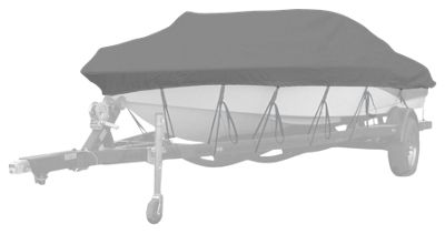 Westland Select Fit Boat Cover for Center/Side Console Boats - Gray - 16'6'' to 17'5''