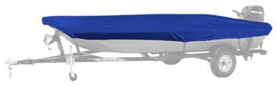 """Bass Pro Shops Select Fit Hurricane Boat Covers for Aluminum Jon Boats with Outboard - Blue - 60"""""""