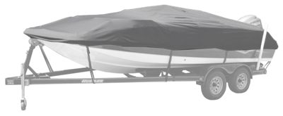 "Bass Pro Shops Select Fit Hurricane Boat Covers for Deck Boats - Gray - 21'6"" to 22'5"""