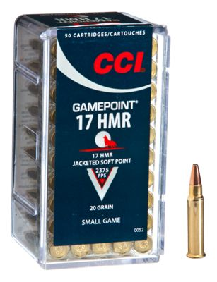 CCI Gamepoint Rimfire Ammo by