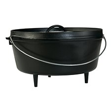 Lodge Logic-Quart Cast Iron Camp Dutch Oven