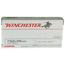 Winchester USA Target FMJ Centerfire Rifle Ammo Image