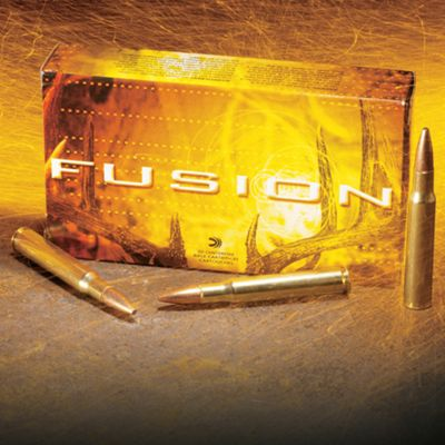 Federal Premium Fusion Rifle Ammo – 7mm Remington Magnum – 175 Grain