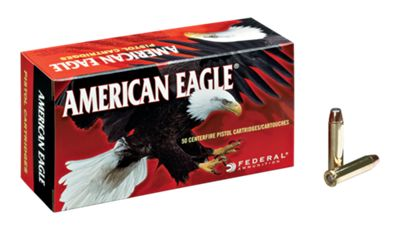 Federal American Eagle Centerfire Handgun Ammo by