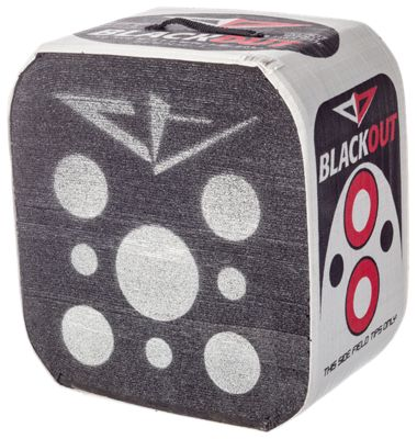 """Blackout 4-Sided Layered Foam Archery Target- 18""""H x 16""""W x 11""""D - Blackout 18"" thumbnail"