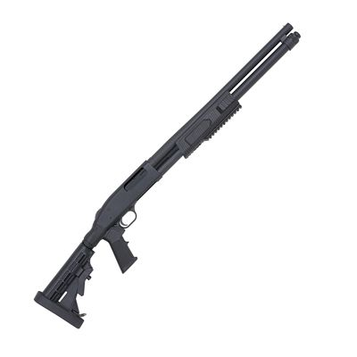 Mossberg FLEX 590 Tactical Pump-Action Shotgun with Adjustable Stock by