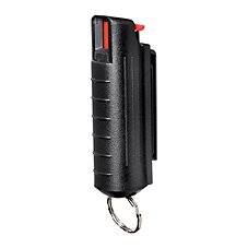 Personal Security Products Eliminator Pepper Spray Canister with Hard Case and Key Ring