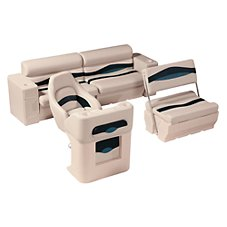 Wise 1100 Series Premier Pontoon Furniture - Traditional Rear Seat Group