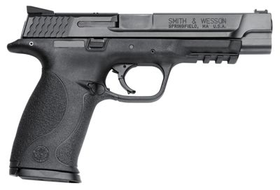 Smith & Wesson M&P40 Pro Series Semi-Auto Pistol With Novak Fiber Optic Sights .40 Smith & Wesson by USA Smith & Wesson Pistols