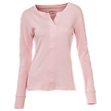 Natural Reflections Loungewear Collection Long-Sleeve Knit Tops for Ladies