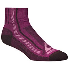 Ascend Hiker Quarter Socks for Ladies