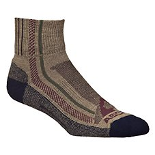 Ascend Hiker Quarter Socks for Men