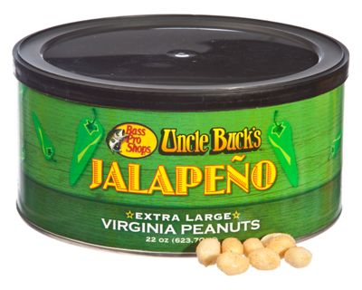 Bass Pro Shops Uncle Buck's Jalepeno ?Extra Large Virginia Peanuts - 22 oz.