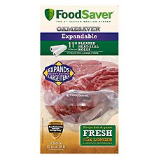 FoodSaver GameSaver Expandable Seal Roll - 2 Pack