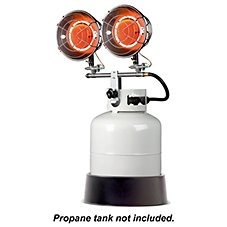 Mr. Heater MH30T Double Tank Top Propane Heater