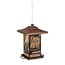 Woodstream Perky-Pet Wilderness Lantern Wild Bird Feeder