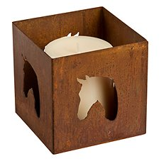 Horse Metal Candle Holders