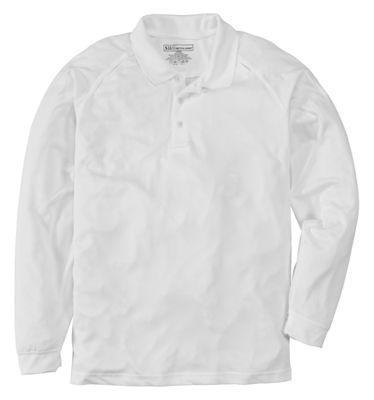 511 Tactical Performance Long Sleeve Polo Shirt for Men White M