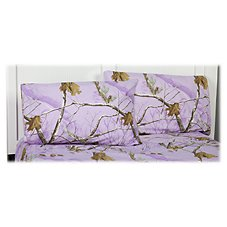 Bass Pro Shops Realtree APC Lavender Collection Sheet Set