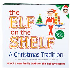 The Elf On The Shelf Elf, Book, and Keepsake Box Set for Girls