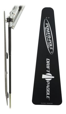 Drift Paddle Accessory for Power-Pole Shallow Water Anchors by