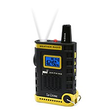 La Crosse Technology Handheld NOAA Weather Radio Image