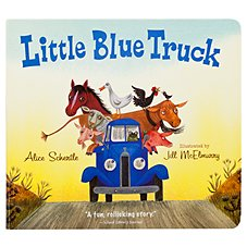 ''Little Blue Truck'' Book for Kids by Alice Schertle and Jill McElmurry
