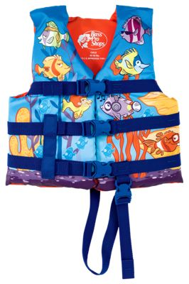 Bass Pro Shops Fish Character Vest for Kids thumbnail