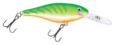 Rapala Shad Rap Hard Bait – SR07 – Green Tiger UV