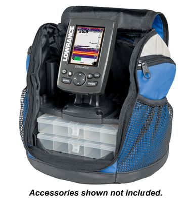 Lowrance universal portable pack for 4 39 39 or 5 39 39 portable for Bass pro shop fish finders