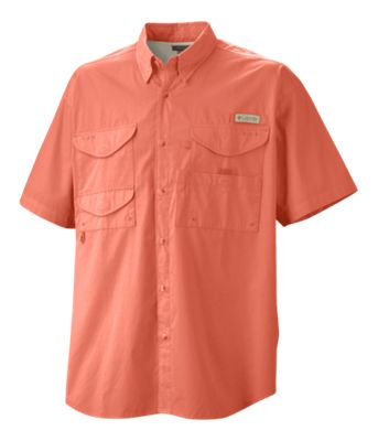 a13634865b638d ... name: 'Columbia Bonehead Short-Sleeve Shirt for Men', image:  'https://basspro.scene7.com/is/image/BassPro/1961470_29487_is', type:  'ProductBean', ...