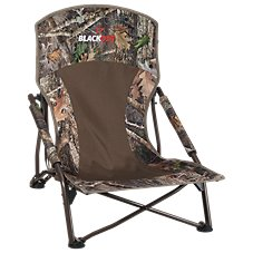 BlackOut Turkey Lounger Folding Hunting Chair