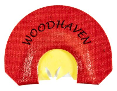 WoodHaven Custom Calls Raspy Red Reactor Mouth Turkey Call