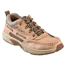 Bill Dance Pro Performance Fishing Shoes for Men by Rugged Shark - Tan
